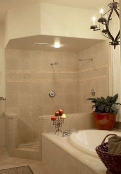Master Spa With Soaker Tub Amp Glassless Shower Beyond