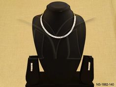DELICATE PARTY WEAR STYLE AD NECKLACE SET