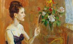 Ragazza con lo specchio – 1965
