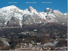 Alpago mountains