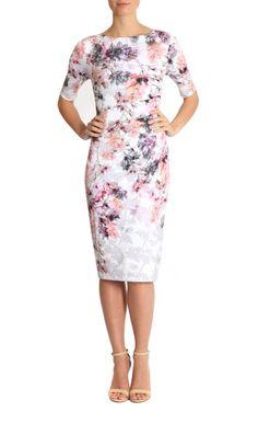 Gladiola Jersey Dress