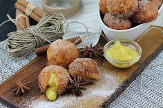 Receta de Buñuelos de viento rellenos de crema pastelera. Sin lactosa   Eureka Recetas