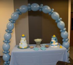 Link-O-Loon Balloon Arch for Ducky Shower