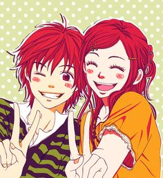 Lovely Complex is cheerfull shoujo :D