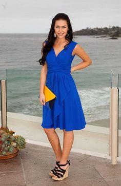 Kikapaprika Azure Belle dress...the most flattering dress ever!