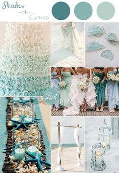 shades-of-green-colors-inspired-beach-wedding-ideas-2015.jpg (600×871)