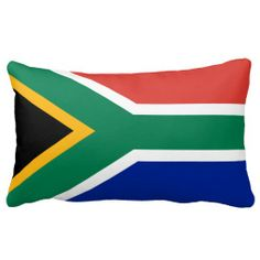 Shop South African flag pillow created by maxiharmony. South African Traditional Dresses, Africa Decor, South African Flag, Cute Boyfriend Gifts, Out Of Africa, Afrikaans, Africa Travel, Custom Pillows, Diy Art