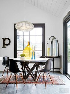 1000 ideas about window trims on pinterest exterior window trims exterior windows and - Enticing modern dining room tables enticing gathering space ...