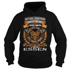 [Cool tshirt name meaning] ESSEN Last Name Surname TShirt Coupon Today Hoodies, Funny Tee Shirts