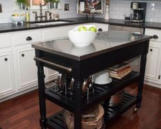 Kitchen designs and decoration thumbnail size kitchen island design plans cart ikea hack islands home depot Portable Kitchen Island, Kitchen Island On Wheels, Kitchen Island Cart, Large Kitchen Island, Kitchen Islands, Bedroom Walls, Ikea Island, Hacks, Island Design
