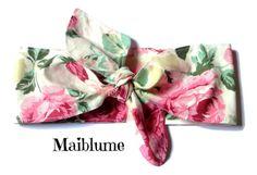 Haarband Rockabilly Geblümt von Maiblume - fiore di maggio auf DaWanda.com