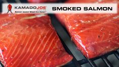 Two words Smoked Salmon! If it can be cooked it tastes better when you use Kamado Joe! Fish Recipe Low Carb, Breaded Fish Recipe, Gefilte Fish Recipe, Blackened Fish Recipe, Fried Fish Recipes, Seafood Recipes, Best Smoked Salmon, Smoked Salmon And Eggs, Smoked Salmon Recipes
