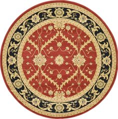 Heritage Red Area Rug