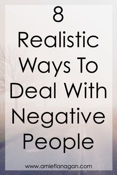 Negative people can really put a positive person in a negative mood. Negativity can make the struggle to stay positive almost impossible. In this post you will find 8 ways to deal with negative people… and hopefully it will help you be in a more positive mood.