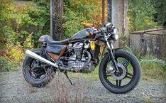 Mr Swallow's Honda - the Bike Shed Cx500 Cafe, Honda Cx500, Custom Radiator, Bike Friday, Cx 500, Bike Builder, Bike Engine, Bike Shed, Badass