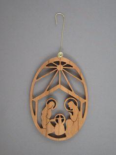 Nativity Scene by jimswoodstudio on Etsy, $13.95