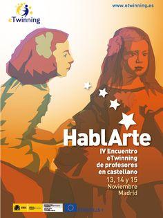 Nov 2014 - IV Encuentro eTwinning de profesores en castellano 'HablArte'.