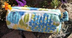 Quilted Barrel Pouch - Free Sewing Pattern