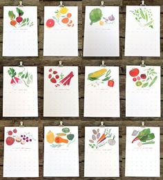 DUETS - 2012 market / garden calendar