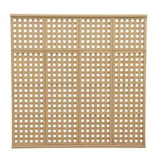 Yardistry - 4 High Privacy Lattice Panel - YM11540 - Home Depot Canada $129.90