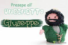 Presentazione nuovo personaggio presepe amigurumi: Giuseppe #presepe #amigurumi #uncinetto