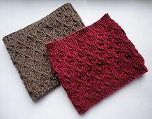Ravelry: Winter Berries Cowl pattern by Stephanie Boardman