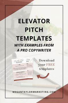 Writing a one-liner for your business never seems to get easier, no matter how long you've been in business. My elevator pitch template will help. Business Proposal, Business Tips, Online Business, Creating A Business, Starting Your Own Business, Business Storytelling, Writing About Yourself, One Liner, Wedding Humor
