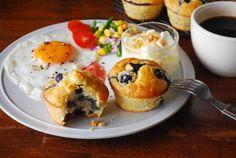 Breakfast. Blueberry and Banana Muffins. / EMPAPURA PLUS blog