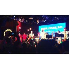 Everett Bradley & Holidelic performed on Sunday at Highline Ballroom