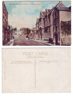 Barras Street, Liskeard, Cornwall - c.1905-10 - Botterell's Series - Postcard