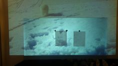 NEW SILVER DIAMOND  PROJECTION SCREEN THAT BRIGHTER THAN THE COLOR WHITE!