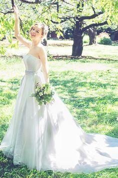 世界一素敵なウエディングドレス♡一生に一度のとびきり美しいプリンセスに MERY [メリー]
