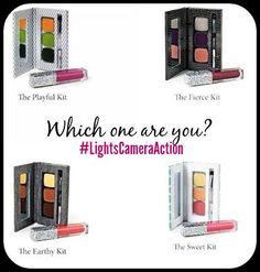 ONLY 2 DAYS LEFT!!!!! WHO WILL GET IT?  ‪#‎GiveAway‬ time! In honor of me hitting my goals! Which one are You? Playful, Fierce, Earthy, or Sweet? Drawing will happen Wednesday... Aug 5th!! Good Luck Everyone! #FreeBeeie #GiveAway #Makeup #MUA #LightsCameraAction #FaceBookGiveAway #Winning #Flawless