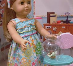 Bring Your Pet to School Day for American Girl by MyGirlClothingCo