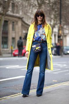 Los pantalones oxford son favoritos este invierno.