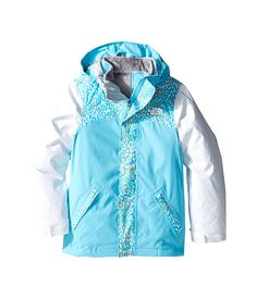 The North Face Kids Abbit Triclimate™ Jacket (Little Kids/Big Kids) Fortuna Blue - 6pm.com