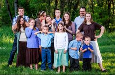 We are the Waggoner's and we are a family with 13 children (we keep Mom and Dad locked in the closet) that we homeschool and raise. The goal of this website is to show you that raising a large family is super fun and not as hard as it seems. Start A Website, Big Family, Mom And Dad, Raising, Cool Pictures, This Is Us, Dads, Product Launch, Couple Photos