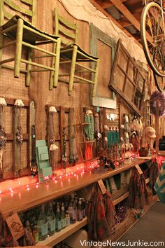 Ideas for Flea Market Booth or Vintage Show