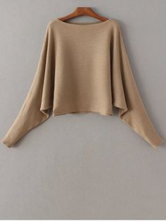 GET $50 NOW | Join RoseGal: Get YOUR $50 NOW!http://www.rosegal.com/sweaters/slash-neck-batwing-sweater-764406.html?seid=8018158rg764406