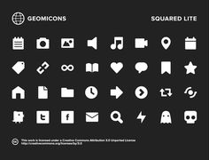 20 Free Web Icon & Glyph Packs for Your UI Designs