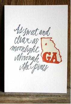 Georgia on my mind♥