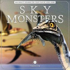 Inject life into your SKY/FLYING MONSTERS with this gigantic pack of realistic, royalty-free, high-quality creature voice overs, foley and just about every other sound you'll ever need! Some of the included sounds are: ATTACK, IDLE SOUNDS, WARNING ROARS, HURT AND DIE SCREAMS, BODY & MOVEMENT SOUNDS … and many more, all in 3 creature sizes - SMALL, MEDIUM, LARGE! [If you need even broader variety of beast-like birds/flying reptiles and other sky creature sounds and sound effects of all other…