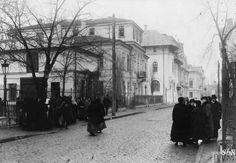 WWI, Dec 1916, Bucharest; The house of Romanian PM Ion Bratianu. ©IWM