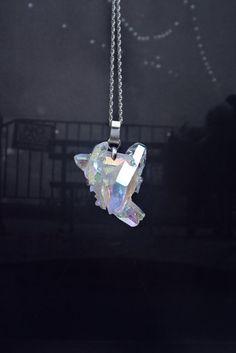 Aura Quartz #necklace #jewellery