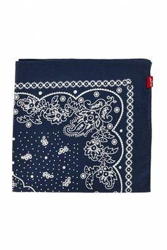 bandana authentic levi's bleu - accessoires echarpe homme http://www.unclejeans.com/p/bandana-authentic-levi-s-bleu.html
