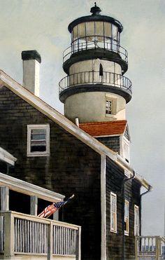 David Mesite, watercolor painting