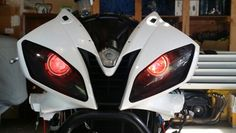 2007 Yamaha R6 Demon eyes..
