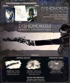 LIMITOVANÁ EDICE OBSAHUJE- první díl Dishonored: Definitive Edition v digitální…