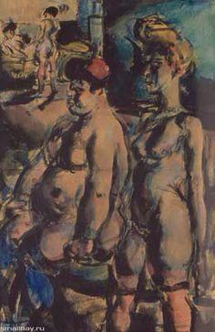 """Жорж Руо, """"Девки"""" ,1907"""