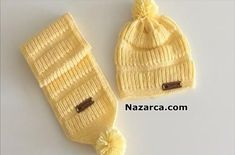 Knitted Mittens Pattern, Baby Boy Knitting Patterns, Knit Mittens, Knitted Hats, Crochet Kids Hats, Sari, Winter Hats, Beanie, Crochet Baby Clothes